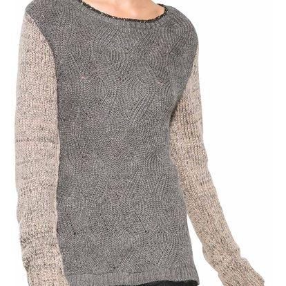 Desigual šedý svetr Samuel