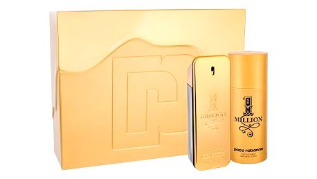 Paco Rabanne 1 Million EDT dárková sada M - EDT 100 ml + deosprej 150 ml