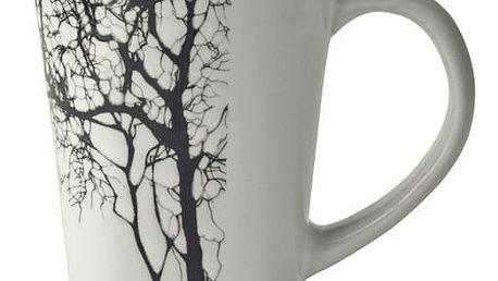 Bílý hrnek KJ Collection Tree, 300ml