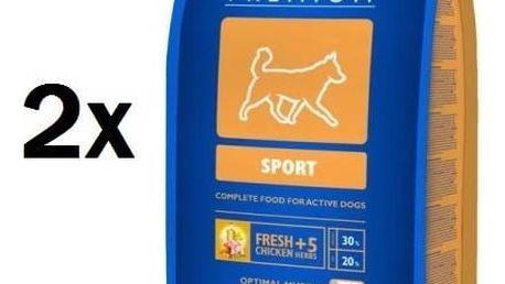 Granule Brit Premium Dog Sport 2 x 15 kg + Doprava zdarma