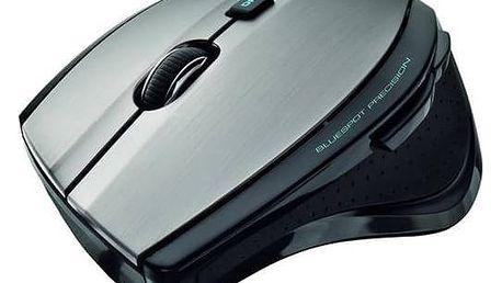 Myš Trust MaxTrack Wireless (17176) černá/stříbrná + Doprava zdarma