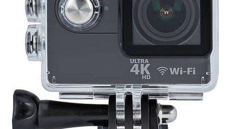 Outdoorová kamera Forever Sportovní kamera Forever SC-410 4K (GSM018131) černá Autokamera Forever VR-110 (zdarma)