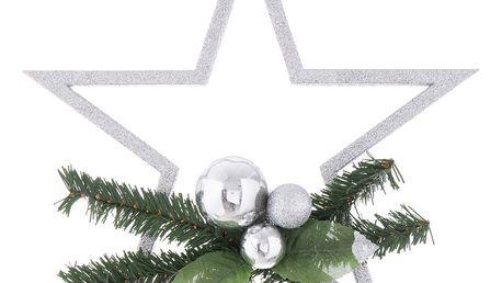 Vánoční dekorace ve stříbrné barvě Ixia Pine