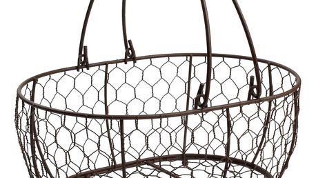 Kovový košík T&G Woodware Provence,29x21cm