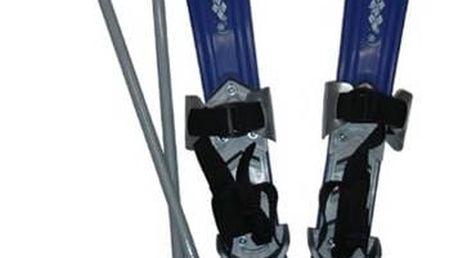 Sjezdové lyže Acra Plastkon dětské plastové modré