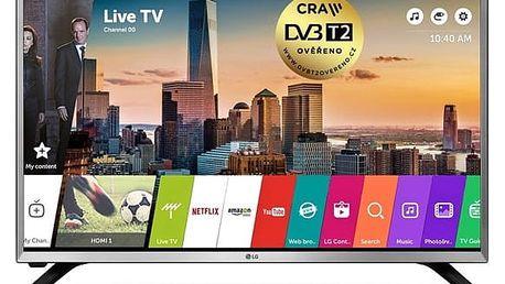 Televize LG 32LJ590U stříbrná + DOPRAVA ZDARMA