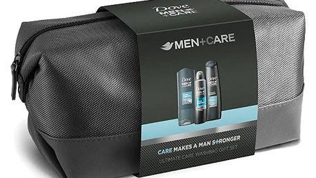 DOVE Men+Care Clean Comfort dárková sada pro muže v toaletní tašce