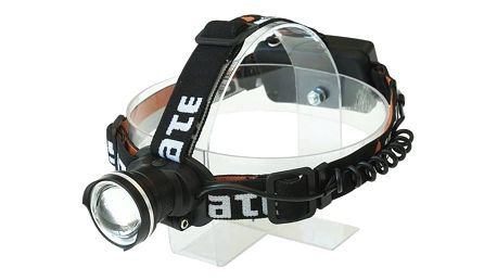 Čelovka Yate Puma s nabíječkou 6x4 cm černá + Doprava zdarma