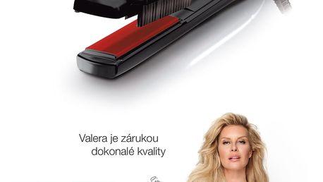 Žehlička na vlasy Valera Swiss´X 100.20/IS černá + DOPRAVA ZDARMA
