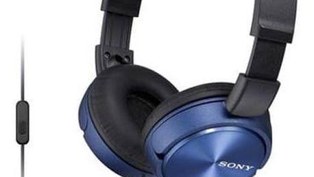 Sluchátka Sony MDRZX310APL.CE7 (MDRZX310APL.CE7) modrá + Doprava zdarma