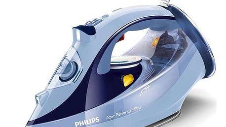 Žehlička Philips Azur Performer Plus GC4526/20 modrá + Doprava zdarma