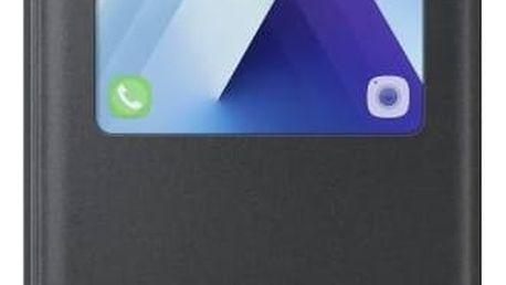 Pouzdro na mobil flipové Samsung S-View pro Galaxy A5 2017 (EF-CA520P) (EF-CA520PBEGWW) černé + Doprava zdarma