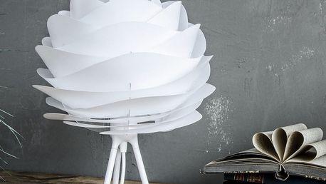 Bílý polohovací stojan tripod na světla VITA Copenhagen, výška18,6cm