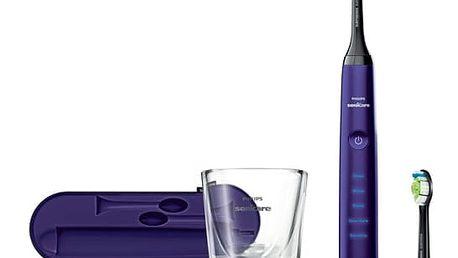 Zubní kartáček Philips Sonicare DiamondClean HX9372/04 fialový + DOPRAVA ZDARMA