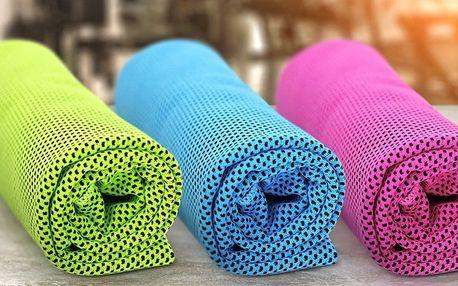 Chladicí ručníky ve třech barvách