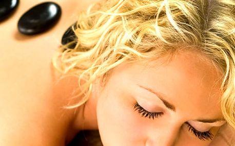 Masáž zad a šíje podle své nálady. Máte chuť na medovou, čokoládovou nebo snad lávové kameny.
