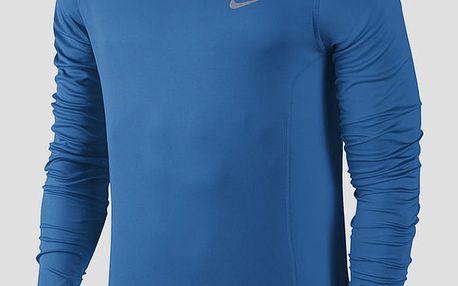 Mikina Nike DF MILER LS Modrá