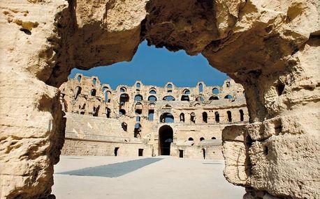 Tunisko, letecky na 8 dní
