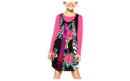 Desigual barevné šaty Argel