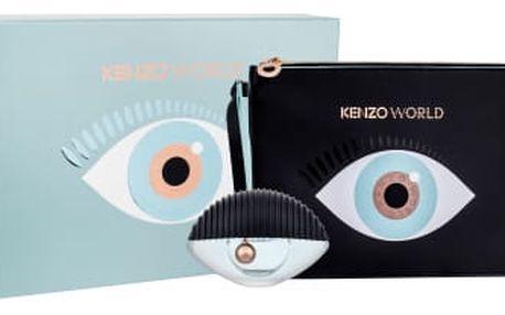 KENZO Kenzo World dárková kazeta pro ženy parfémovaná voda 50 ml + kosmetická taška
