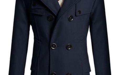 Elegantní pánský kabát Tobias - 4 barvy
