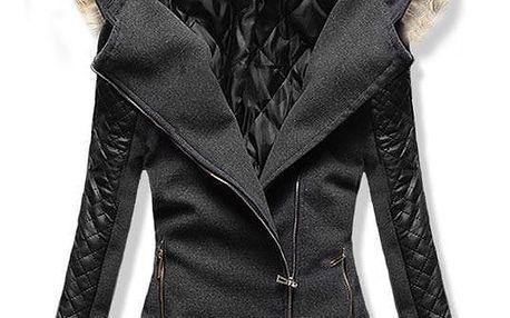 Dámský kabát Alska tmavý