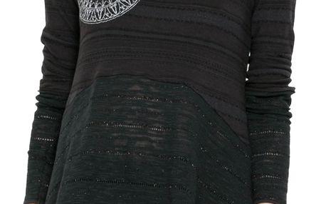 Desigual černé tričko Noelia