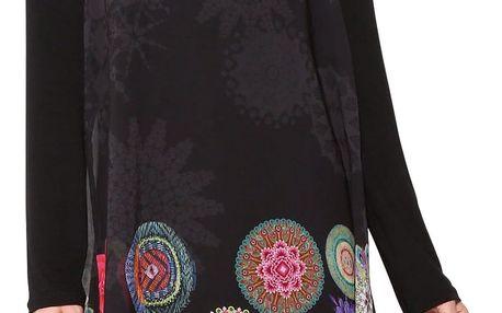 Desigual černé šaty Kerowac
