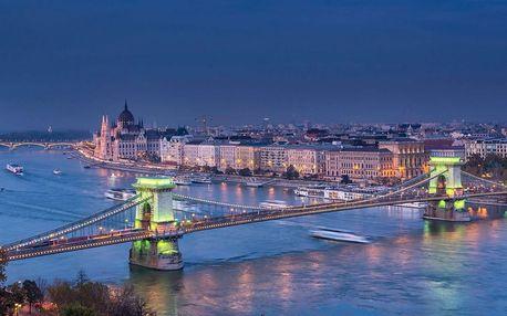 Pobyt v centru Budapešti s dětmi zdarma