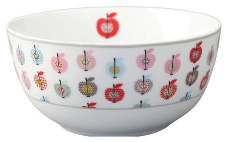 Krasilnikoff Miska Apple, multi barva, porcelán
