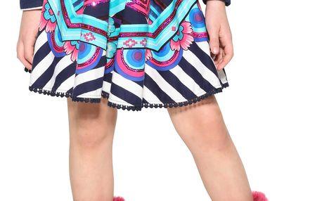 Desigual barevná dívčí sukně Artes