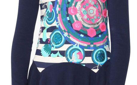 Desigual barevné dívčí šaty Moroni