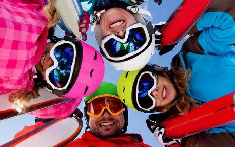 Permanentky do skiareálu Pancíř