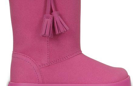 Crocs růžové boty Lodgepoint Boot Party Pink