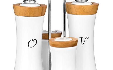 4dílná sada na koření a olej/ocet Premier Housewares Condiment