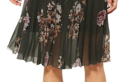 Desigual khaki sukně Lisa