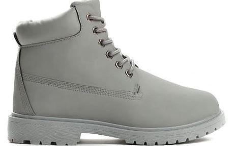 Dámské tmavě šedé kotníkové boty Petty 800