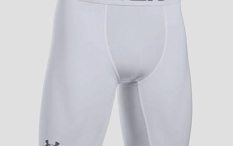 Kompresní šortky Under Armour HG 2.0 Long Short Bílá