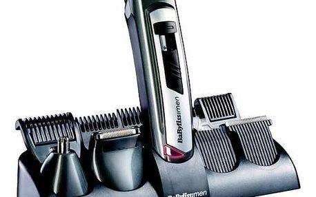Zastřihovač vlasů BaByliss E826E stříbrný