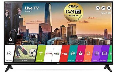 Televize LG 49LJ594V černá + DOPRAVA ZDARMA