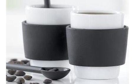 Sada 2 šálků na espresso Steel Function Milano, 100 ml
