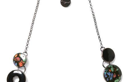 Desigual tmavý dámský náhrdelník Misha