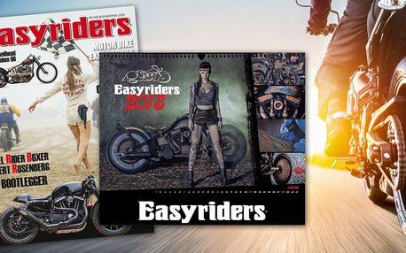 Roční předplatné časopisu Easyrides s bonusy