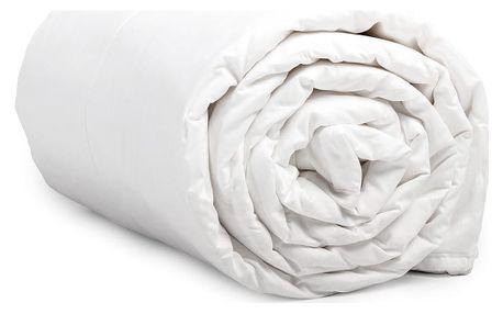 Peřina z mikroperkálu na dvoulůžko Sleeptime Summer Quilt White,240x220cm