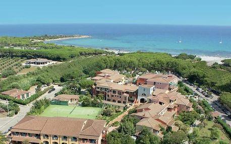 Itálie, Sardinie, letecky na 8 dní s plnou penzí