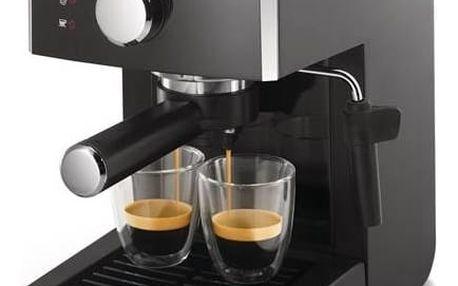 Espresso Saeco Poemia HD8423/19 černé + okamžitá sleva 200 Kč! + Doprava zdarma