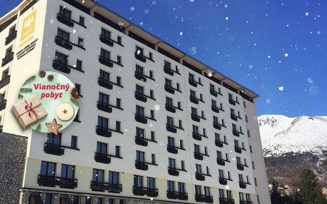 Vánoce a zima v hotelu Granit Tatranské Zruby