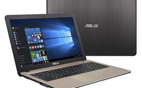 Notebook Asus X540LJ-DM943T (X540LJ-DM943T) černý/zlatý + DOPRAVA ZDARMA