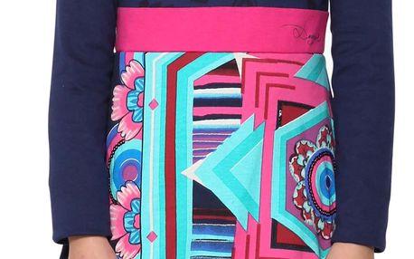 Desigual modré šaty Yamena