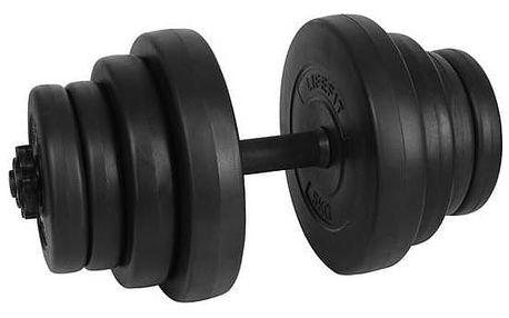 Set LIFEFIT Master nakládací 20kg černý